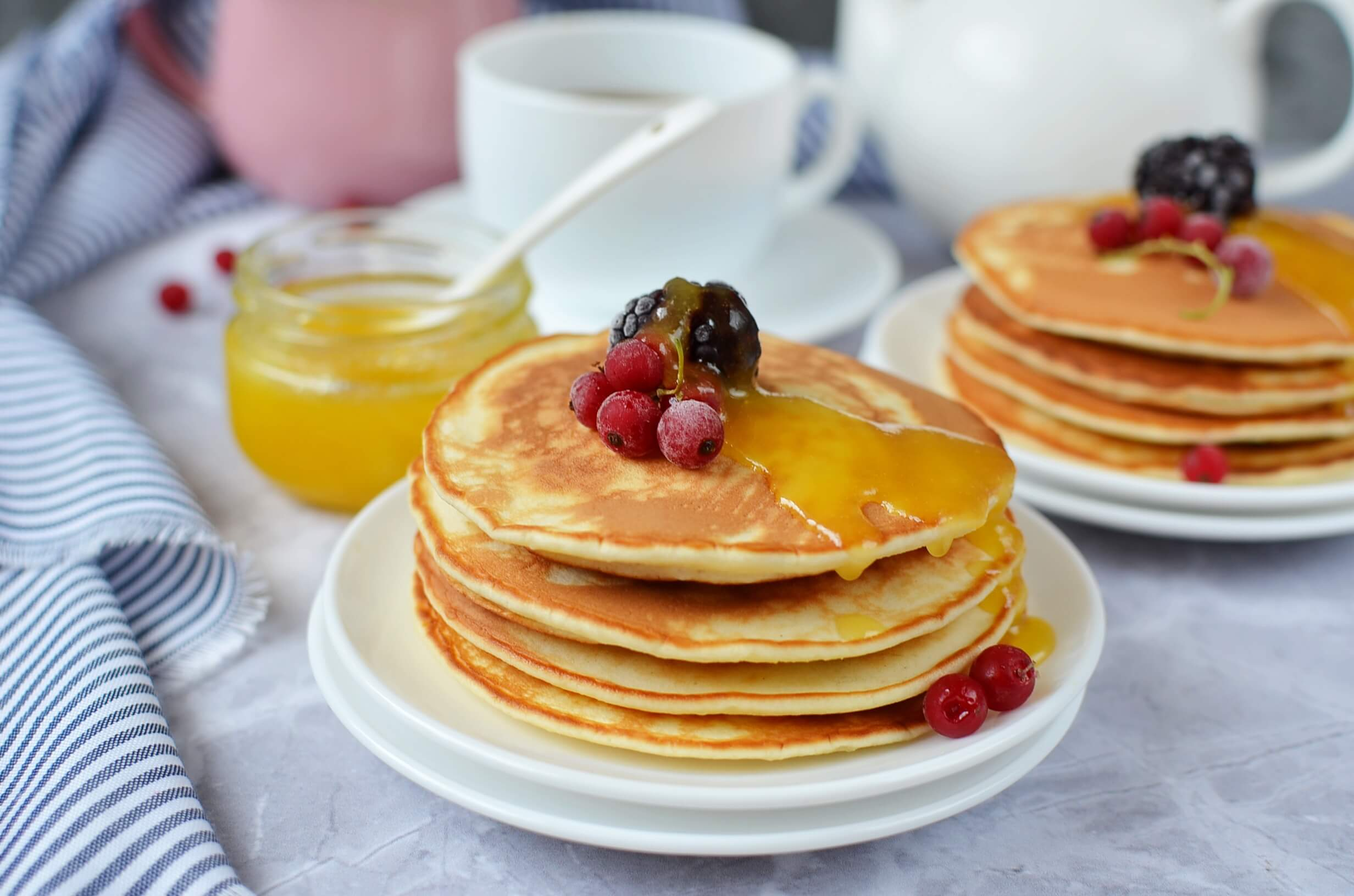 Dairy-Free Classic Pancakes-How To Make Dairy Recipe-Free Classic Pancakes-Delicious Dairy-Free Classic Pancakes