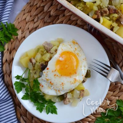 Easy Baked Beef Hash with Potatoes Recipe-How To Make Easy Baked Beef Hash with Potatoes-Delicious Easy Baked Beef Hash with Potatoes