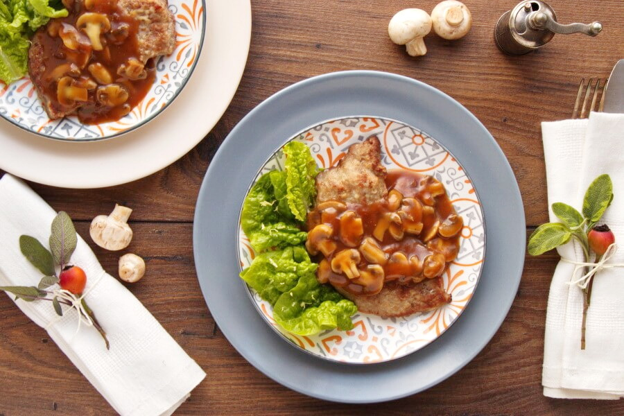 How to serve Easy Veal Marsala with Mushrooms