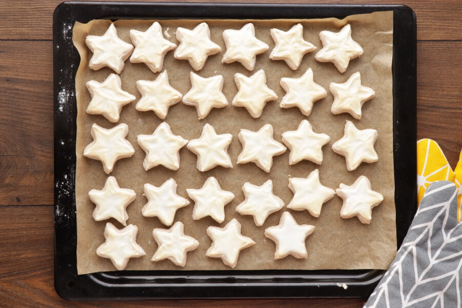 German Cinnamon Star Christmas Cookies recipe - step 9