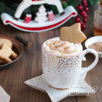Gingerbread Hot Chocolate Recipe-Gingerbread Hot Cocoa Recipe-Homemade Gingerbread Hot Chocolate