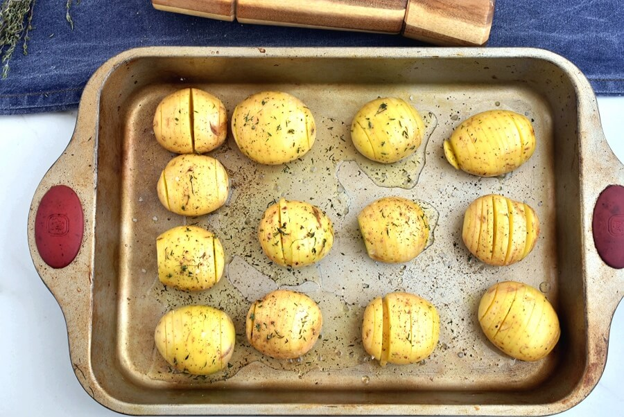 Hasselback Potatoes recipe - step 4