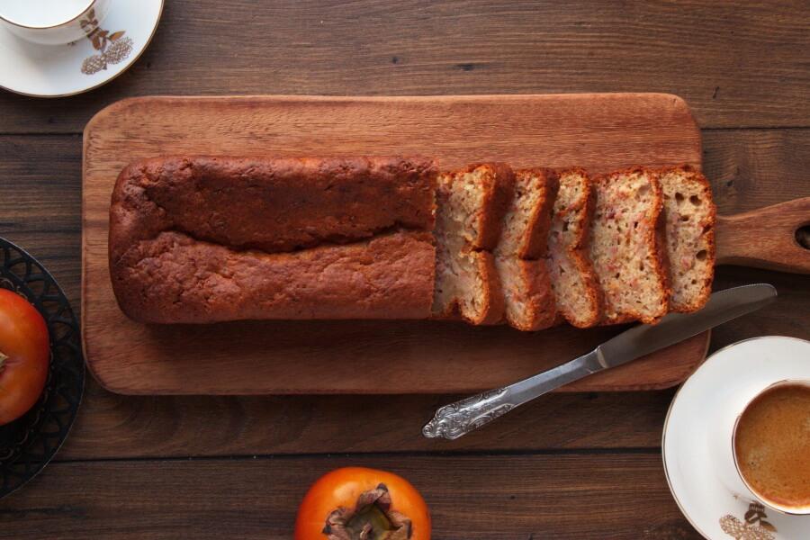 How to serve Healthyish Persimmon Bread