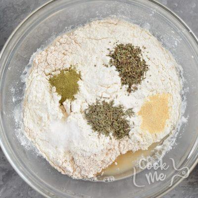 Cloverleaf Herb Dinner Rolls recipe - step 2