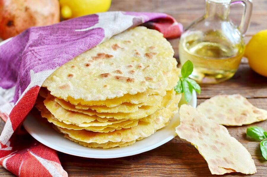 How to serve Homemade Gluten-Free Corn Tortilla