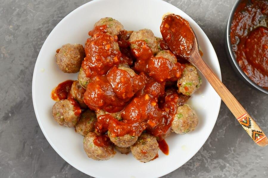How to serve Honey Garlic Pork Meatballs