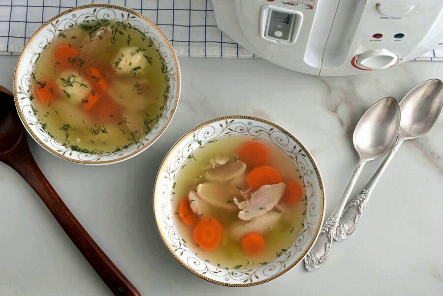 How to serve Instant Matzo Ball Soup