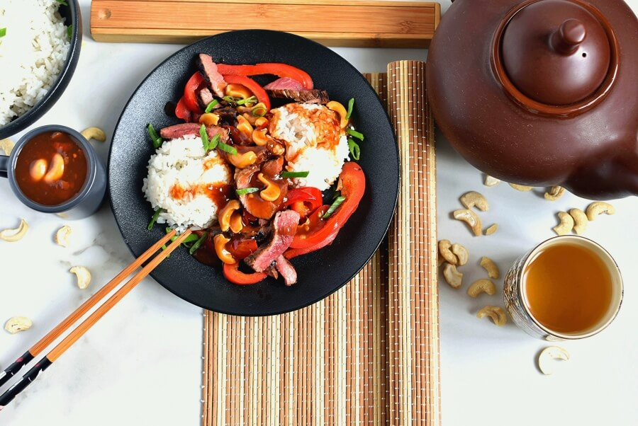 Kung Pao Beef Recipe-How To Make Kung Pao Beef Recipe-Delicious Kung Pao Beef Recipe