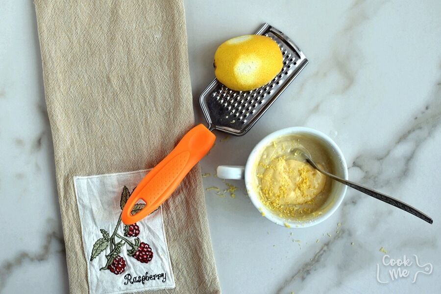 Lemon Mug Cake recipe - step 2