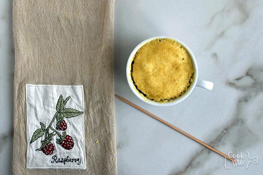 Lemon Mug Cake recipe - step 3