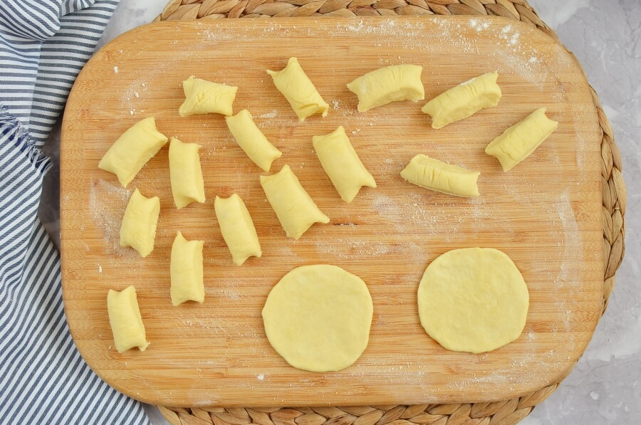 Meringue Shell Cookies (Rakushki) recipe - step 7