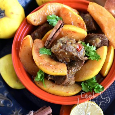 Moroccan-Tagine-With-Quinces-Safarjal-and-Honey-Recipe-How-To-Make-Moroccan-Tagine-With-Quinces-Safarjal-and-Honey-Delicious-Moroccan-Tagine-With-Quinces-Safarjal-and-Honey