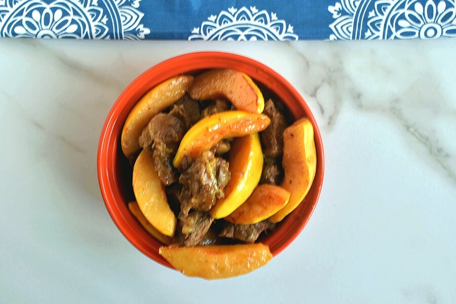Moroccan Tagine With Quinces and Honey recipe - step 7