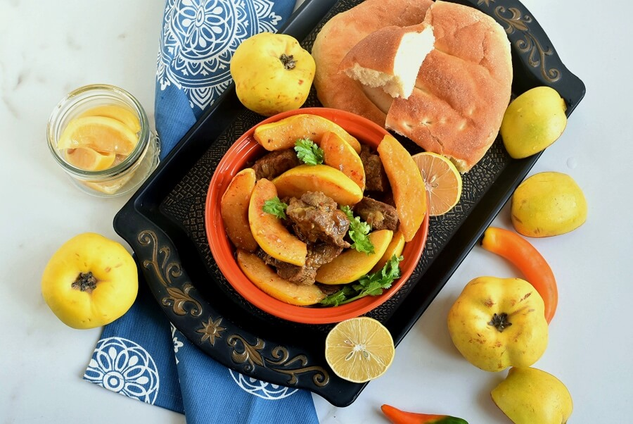 How to serve Moroccan Tagine With Quinces and Honey