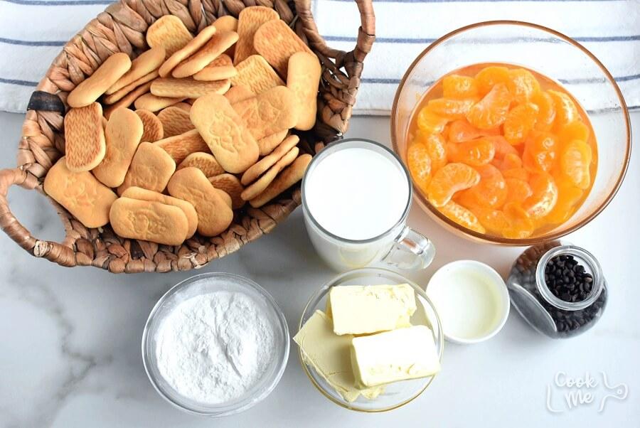 No-bake pudding tangerine dessert Recipe-How To Make No-bake pudding tangerine dessert-Easy No-bake pudding tangerine dessert