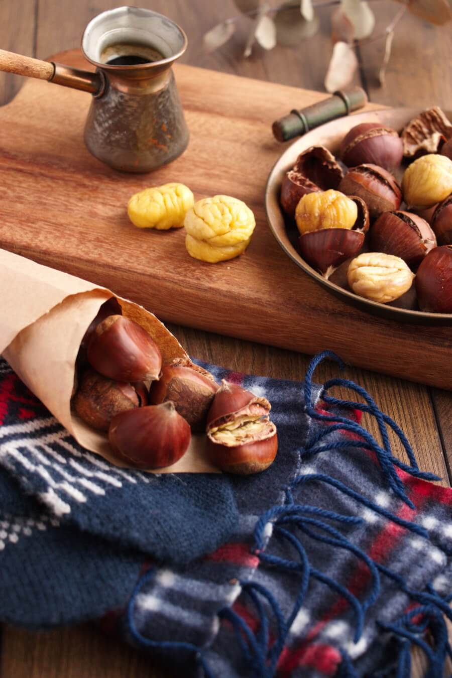 Oven Roasted Chestnuts Recipe