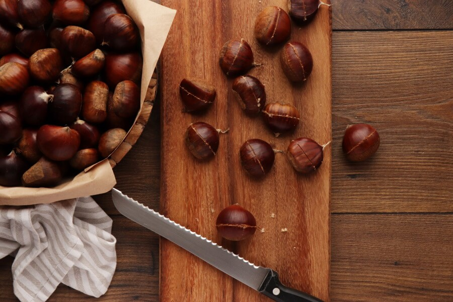 Oven Roasted Chestnuts recipe - step 2