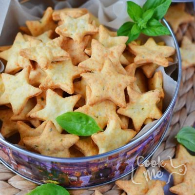 Parmesan Cheddar Basil Bites Recipe-How To Make Parmesan Cheddar Basil Bites-Delicious Parmesan Cheddar Basil Bites