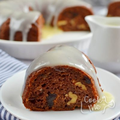 Persimmon Rum Bundt Cake Recipe-How To Make Persimmon Rum Bundt Cake-Delicious Persimmon Rum Bundt Cake