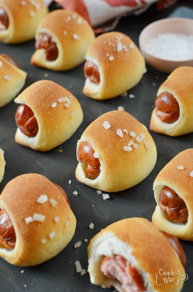 Pigs In A Blanket Recipe-How To Make Pigs In A Blanket-Delicious Pigs In A Blanket