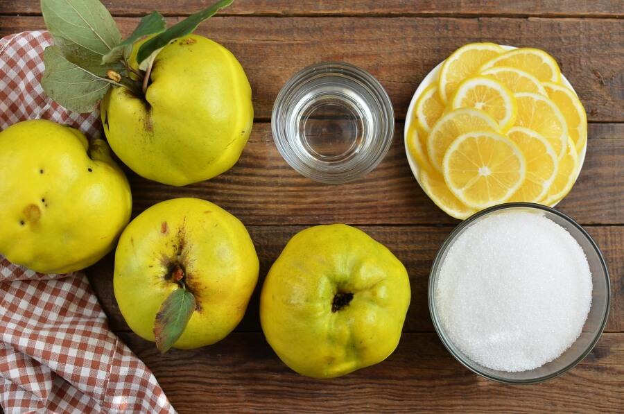 Quince Preserve Recipe-Quince Preserves in Syrup Recipe-How to make Quince Preserve