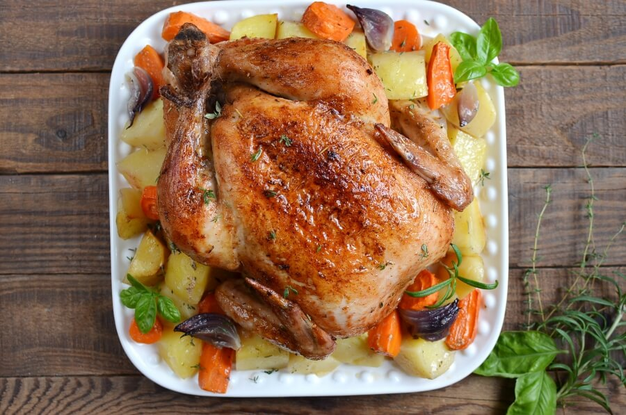 How to serve Roast Chicken and Vegetables