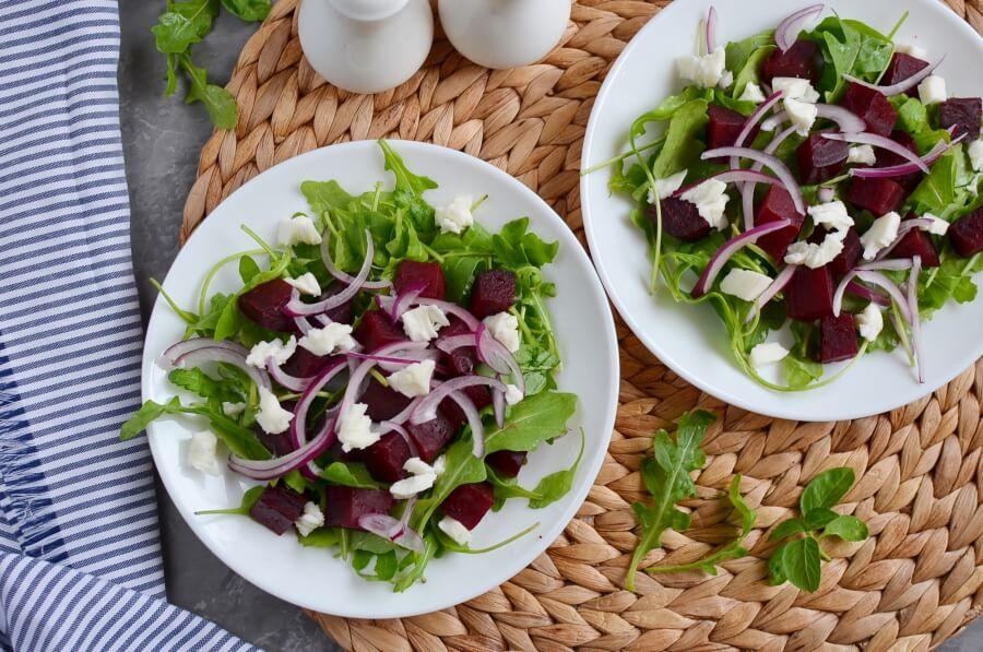 Roasted Beets and Feta Salad recipe - step 5