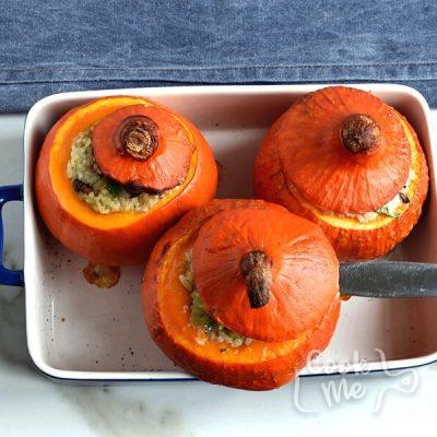 Sausage & Rice Stuffed Pumpkins recipe - step 7