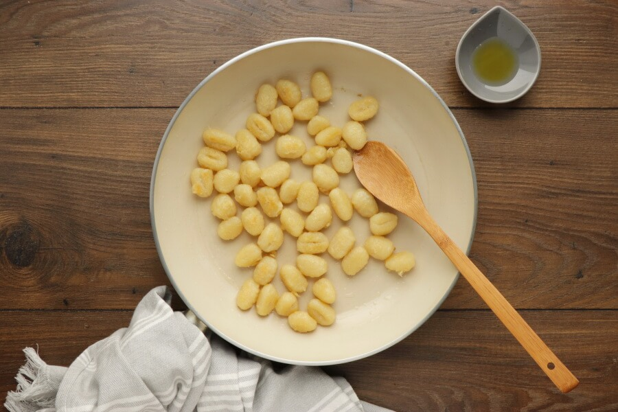 Skillet Gnocchi with Chard & White Beans recipe - step 1