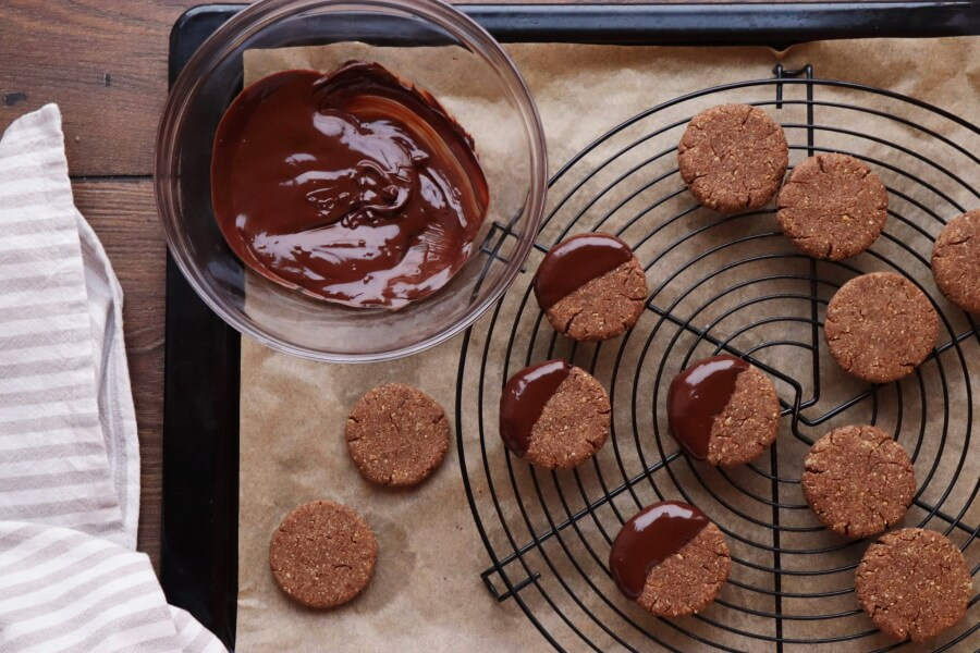 Spiced Chocolate Chestnut Cookies recipe - step 9