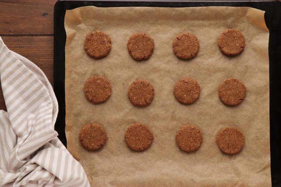 Spiced Chocolate Chestnut Cookies recipe - step 6
