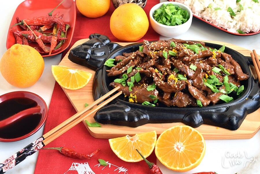 How to serve Spicy Tangerine Beef