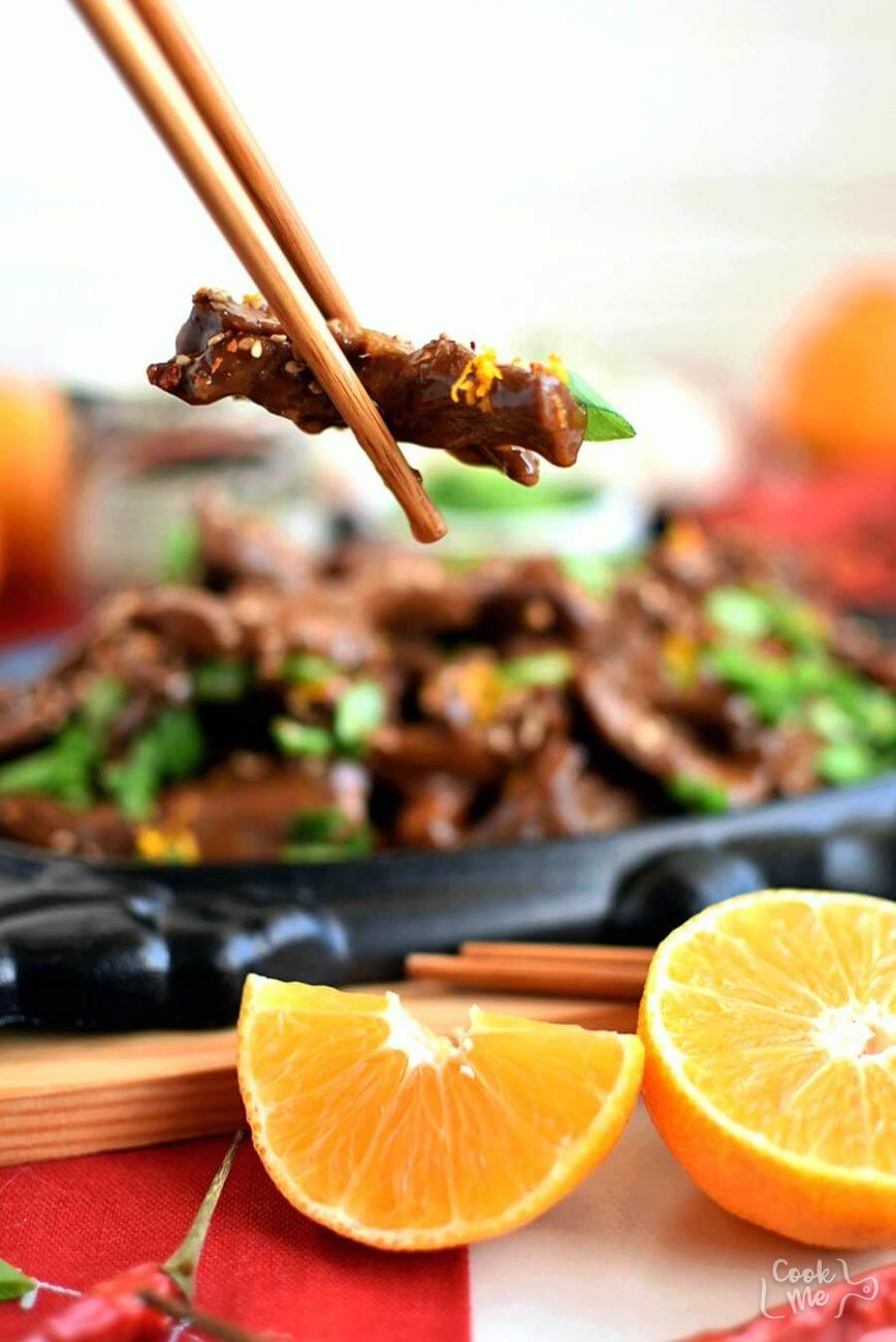 Spicy Tangerine Beef
