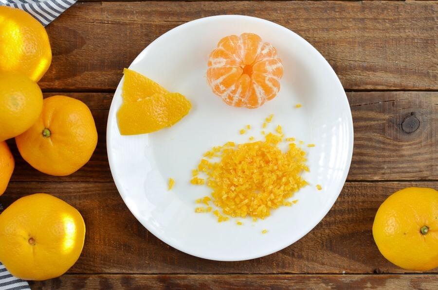 Tangerine Cream Parfait recipe - step 1