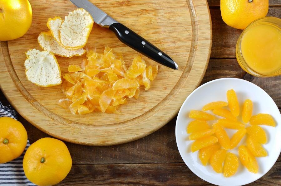 Tangerine Cream Parfait recipe - step 2