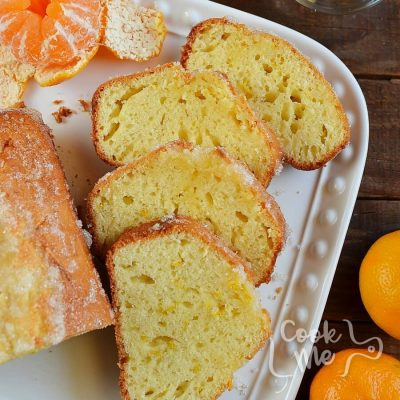 Tangerine Drizzle Cake Recipe-How To Make Tangerine Drizzle Cake-Delicious Tangerine Drizzle Cake