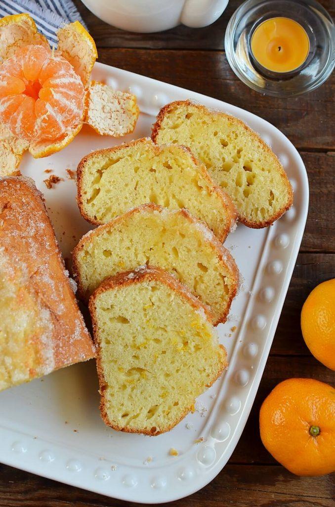 Citrus Glaze Tangerine Cake