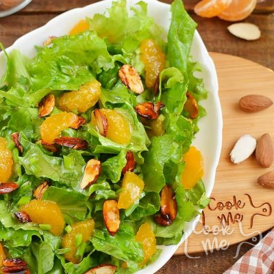 Tangerine Tossed Salad Recipe-How To Make Tangerine Tossed Salad-Delicious Tangerine Tossed Salad