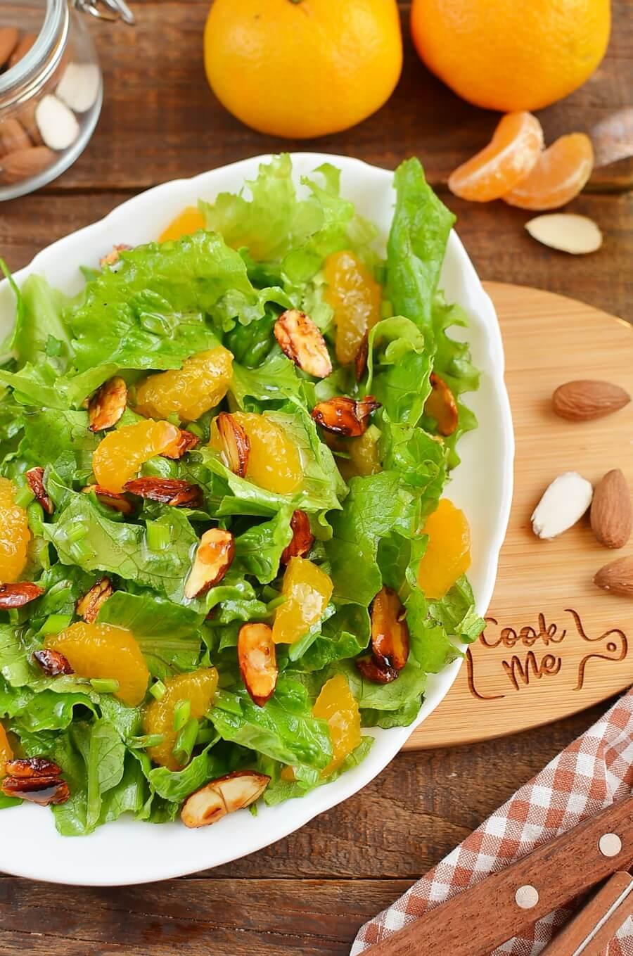 Tangerine Tossed Salad Recipe Cook Me Recipes