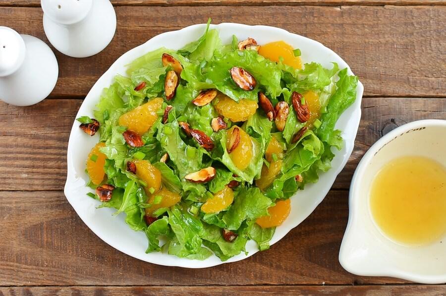 How to serve Tangerine Tossed Salad