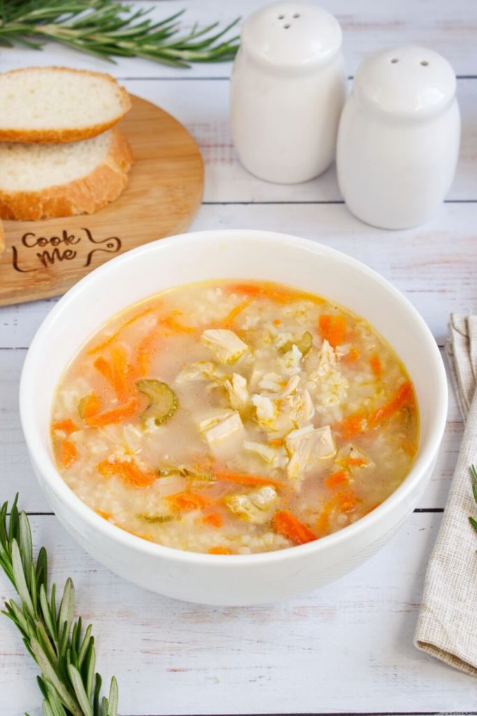 Yummy Winter Turkey Soup
