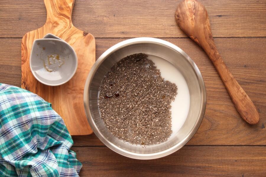 Vegan Persimmon Chia Pudding recipe - step 1
