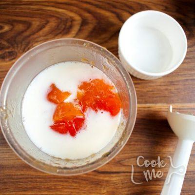 Vegan Persimmon Ice Cream recipe - step 1