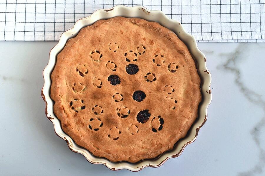 Walnut-Cranberry Pie recipe - step 6