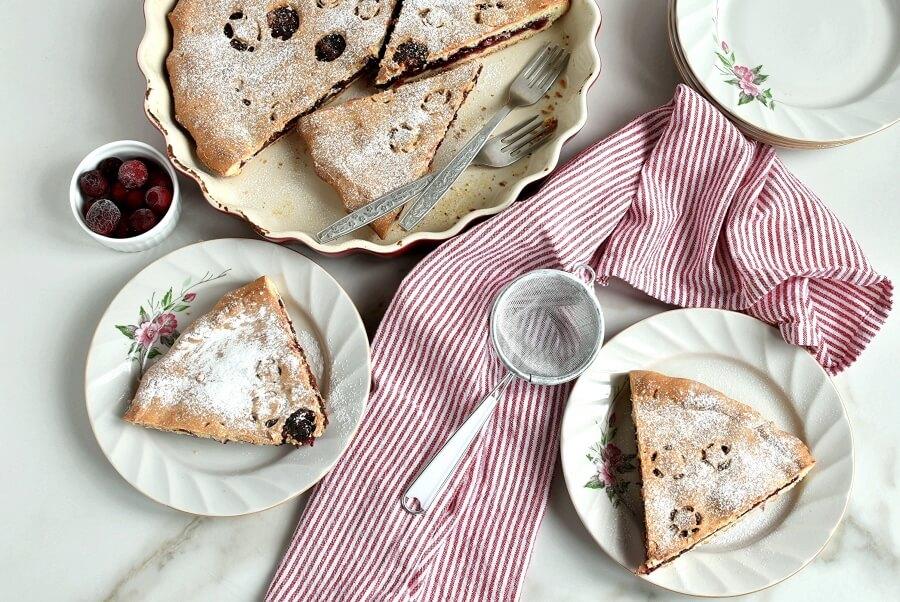 How to serve Walnut-Cranberry Pie