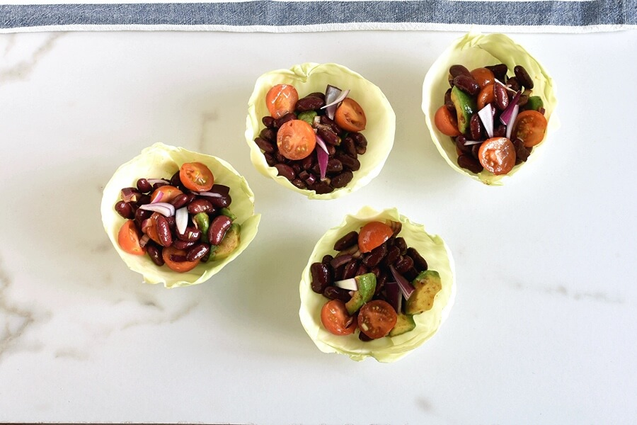 10-Minute Healthy Cabbage Bowls recipe - step 4