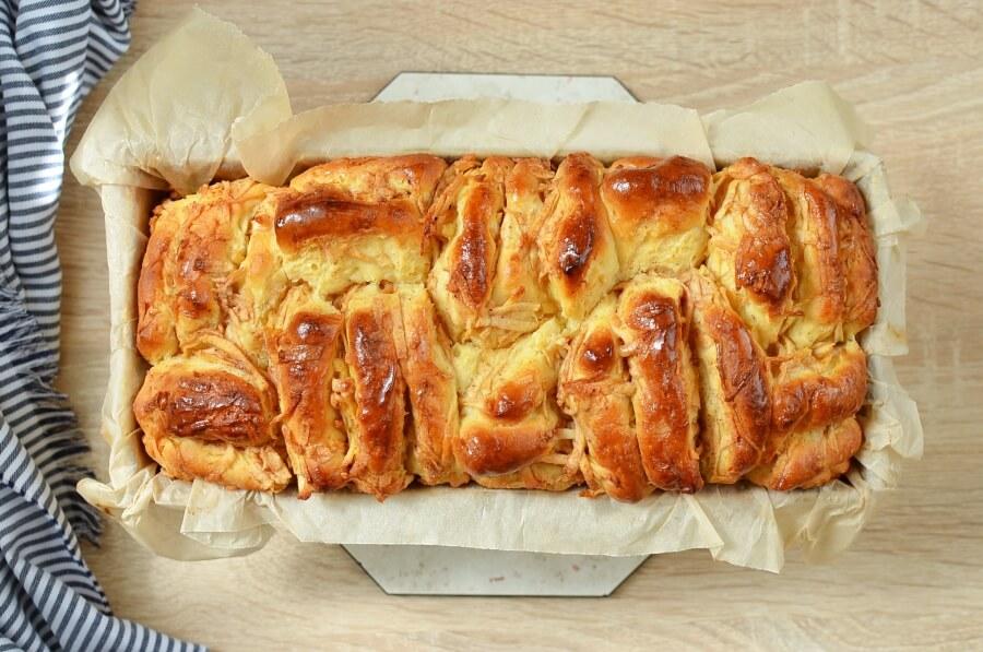 Pull-Apart Apple Bread Recipe recipe - step 13