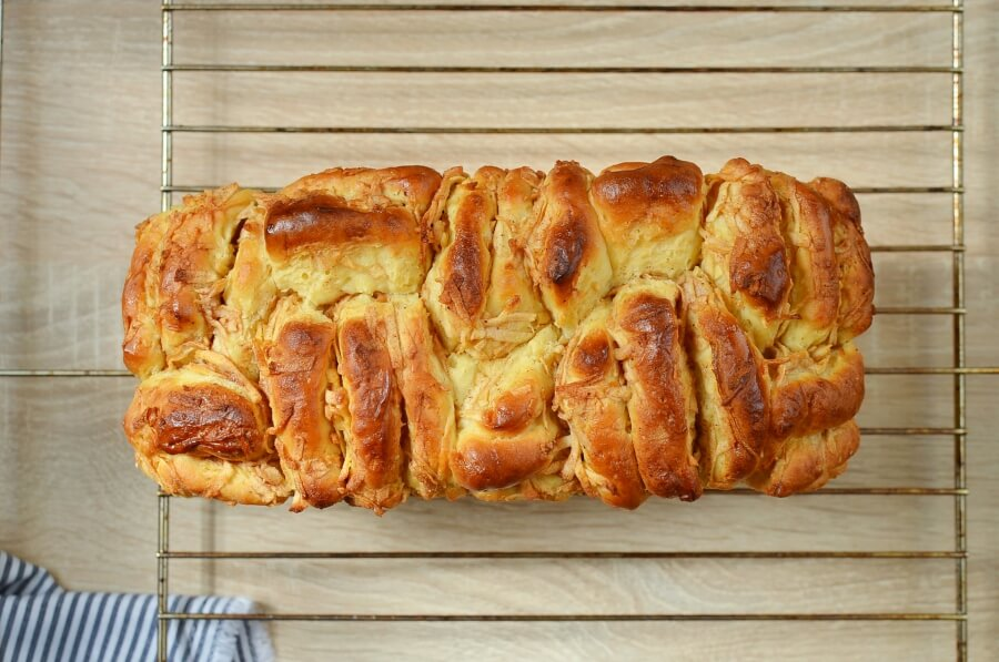 Pull-Apart Apple Bread Recipe recipe - step 14