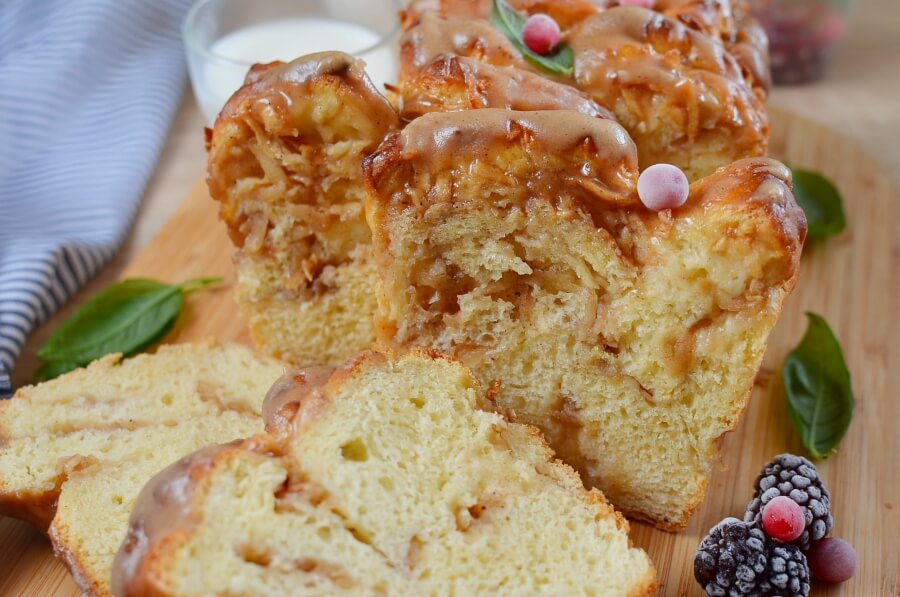 How to serve Pull-Apart Apple Bread Recipe