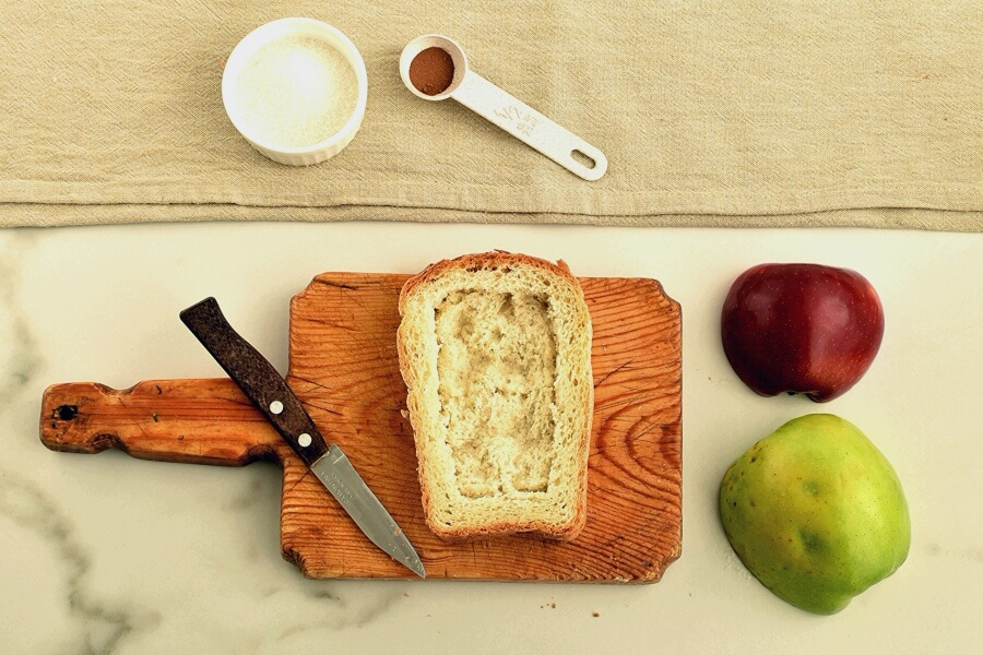 Apple Pie Toast recipe - step 2